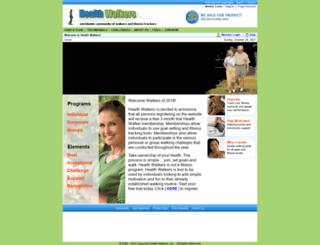 healthwalkers.com screenshot
