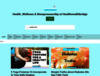 healthwealthbridge.com screenshot