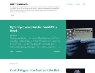 healthwise-everythinghealth.blogspot.com screenshot