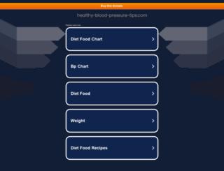 healthy-blood-pressure-tips.com screenshot