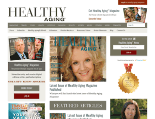healthyaging.net screenshot