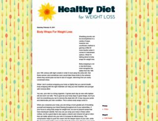 healthydietforweightloss.blogspot.com screenshot