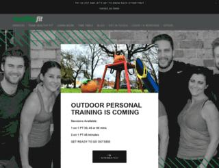 healthyfit.com.au screenshot