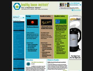 healthyhouseinstitute.com screenshot
