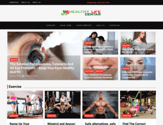 healthylifecentar.com screenshot