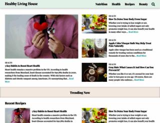 healthylivinghouse.com screenshot