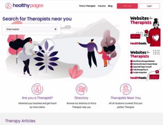 healthypages.com screenshot
