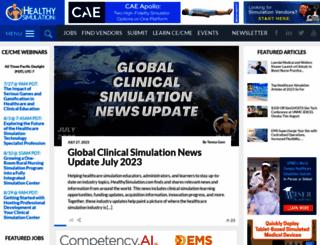 healthysimulation.com screenshot