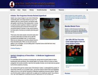 healthysmoothiehq.com screenshot