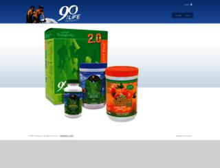 healthysp.my90forlife.com screenshot
