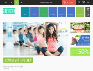 healthyteacompany.co.uk screenshot