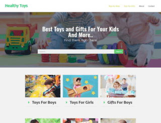 healthytoys.org screenshot