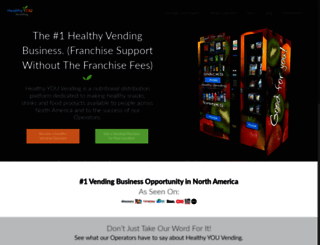 healthyvending.com screenshot