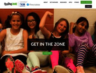 healthyzoneschool.com screenshot