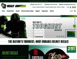 healydecals.com screenshot