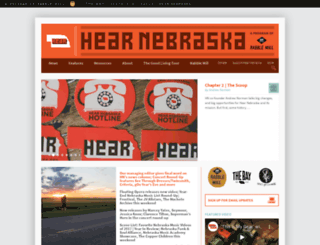 hearnebraska.org screenshot