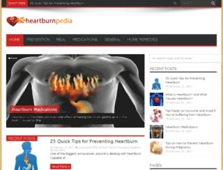 heartburnpedia.com screenshot