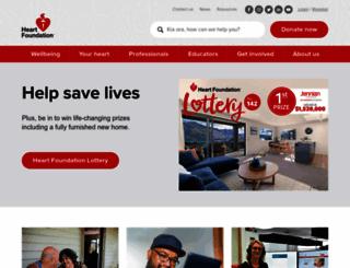 heartfoundation.org.nz screenshot