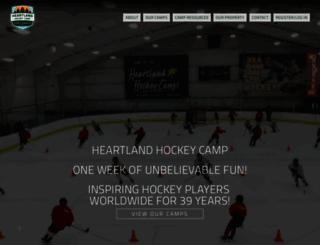 heartlandhockey.com screenshot