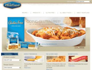 heartlandpasta.com screenshot
