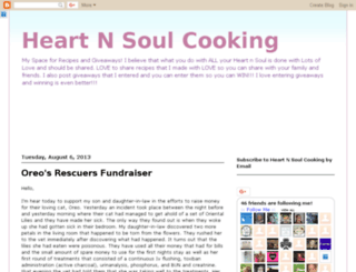 heartnsoulcooking.blogspot.com screenshot