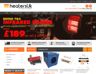 heatersuk.com screenshot