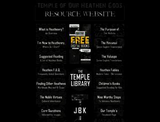 heathengods.com screenshot