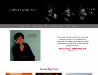 heathercairncross.com screenshot