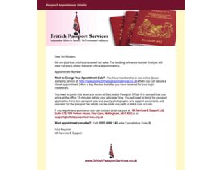 heatherp.passportdetails.co.uk screenshot
