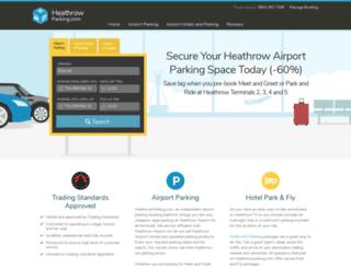 heathrowparking.com screenshot