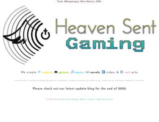 heavensentgaming.com screenshot