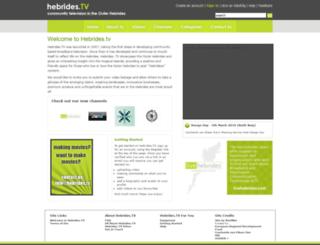 hebrides.tv screenshot