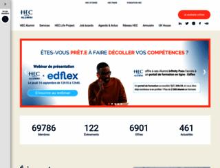 hecalumni.fr screenshot