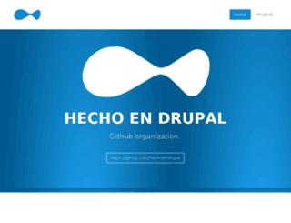 hechoendrupal.com screenshot