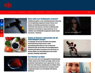 hecris.com screenshot