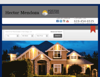 hectormendoza.placester.net screenshot