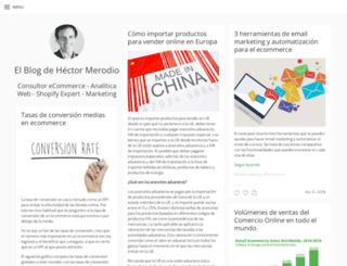 hectormerodio.com screenshot