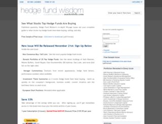 hedgefundwisdom.com screenshot