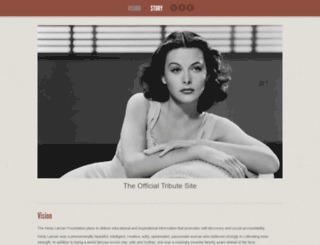 hedylamarr.org screenshot
