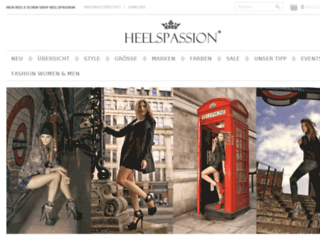 heelspassion.ch screenshot