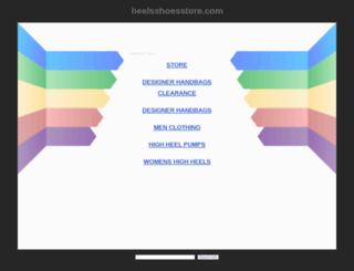 heelsshoesstore.com screenshot
