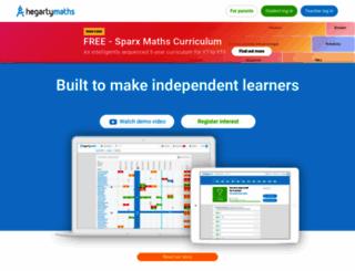 hegartymaths.com screenshot