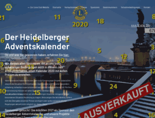 heidelberger-adventskalender.de screenshot
