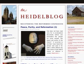 heidelblog.wordpress.com screenshot