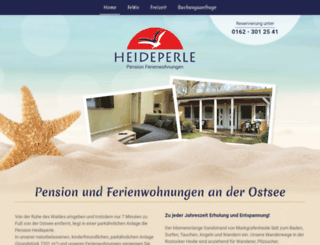 heideperle.net screenshot
