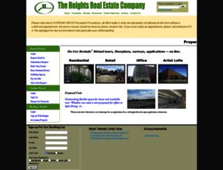 heightsre.com screenshot