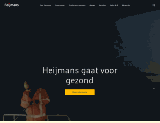 heijmans.com screenshot