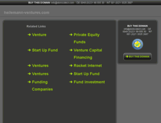 heilemann-ventures.com screenshot