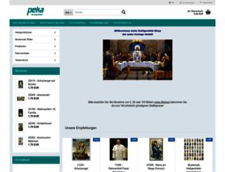 heiligenbild.de screenshot