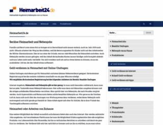 heimarbeit24.de screenshot